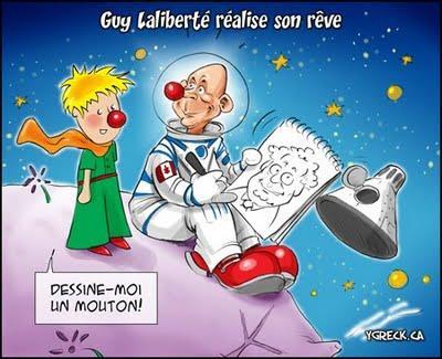 Guy Laliberté et son « trip » spatial