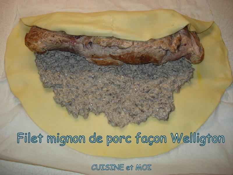 Filet mignon Wellington
