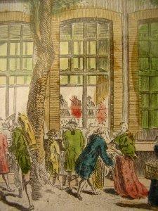 Les cafés de Paris en 1787