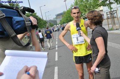 Six questions pour un marathonien