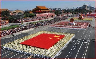 les 60 ans de la Chine !