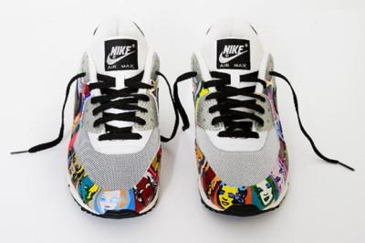My Nike Air Max 90's Andy Warhol et Marilyn Monroe style