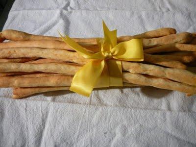 Gressini au Parmesan