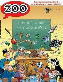 Revue de presse BD : [dBD] n°37, Casemate n°19 et Zoo n°21 (octobre 2009)