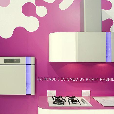 Cuisine design GORENJE par Karim RASHID