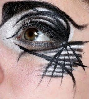 Maquillage des yeux black n 2 lire - Toile d araignee maquillage ...
