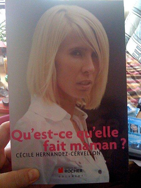 Ca y est, j'ai le nouveau livre de Cécile Cervelon-Hernandez! Un rdv sur les ondes avec elle dimanche!