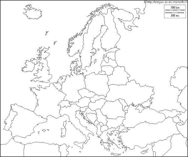 Fiche de révision Géo Chapitre 1 : La diversité du continent européen