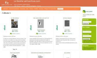 La librairie de Lekti-écriture se lance dans les ebooks