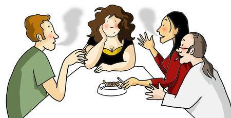 Comme cesser de fumer par le complot