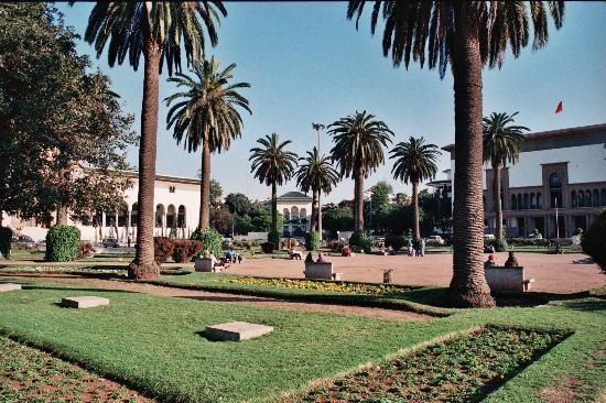 Casablanca, Maroc : Plaza Mohamed V
