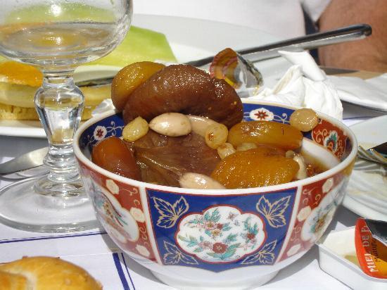 Casablanca, Maroc : Petit dejeuner