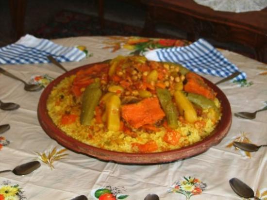 Casablanca, Maroc : COUS COUS ON FRIDAY