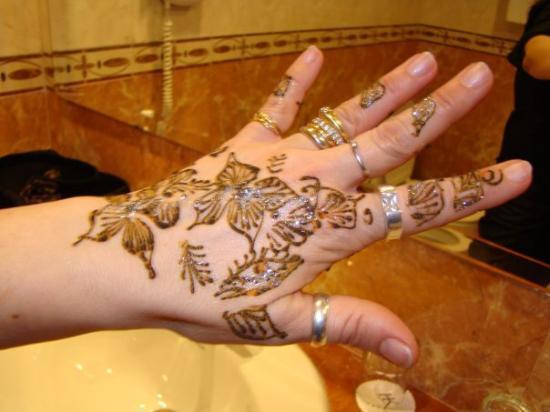 Casablanca, Maroc : Bello il tatù che mi son fatta no?