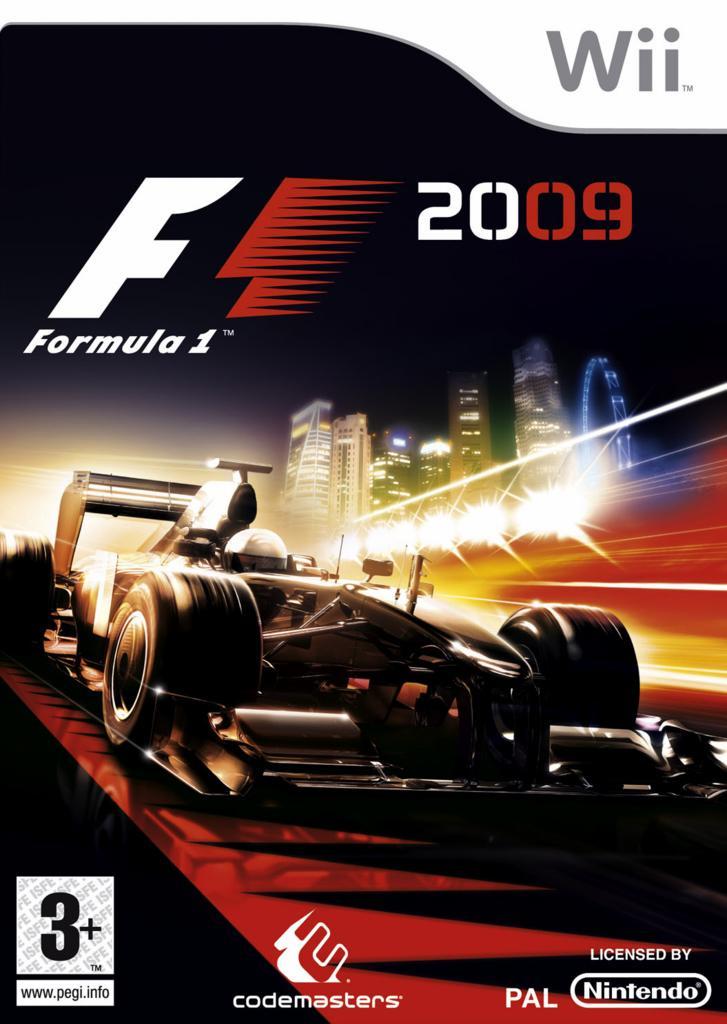 F1 2009 sur Wii … trailer de Singapour
