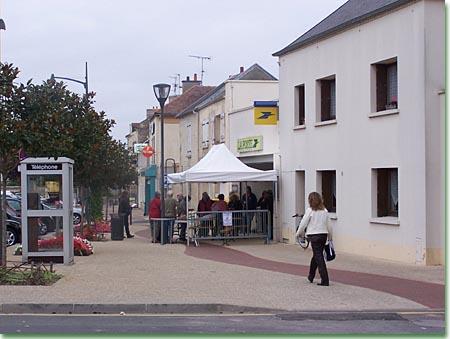 La poste de Fleury-sur-Orne