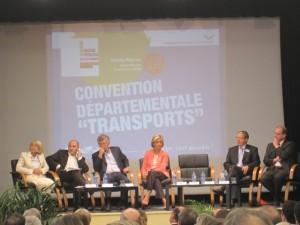 Convention départementale sur les transports