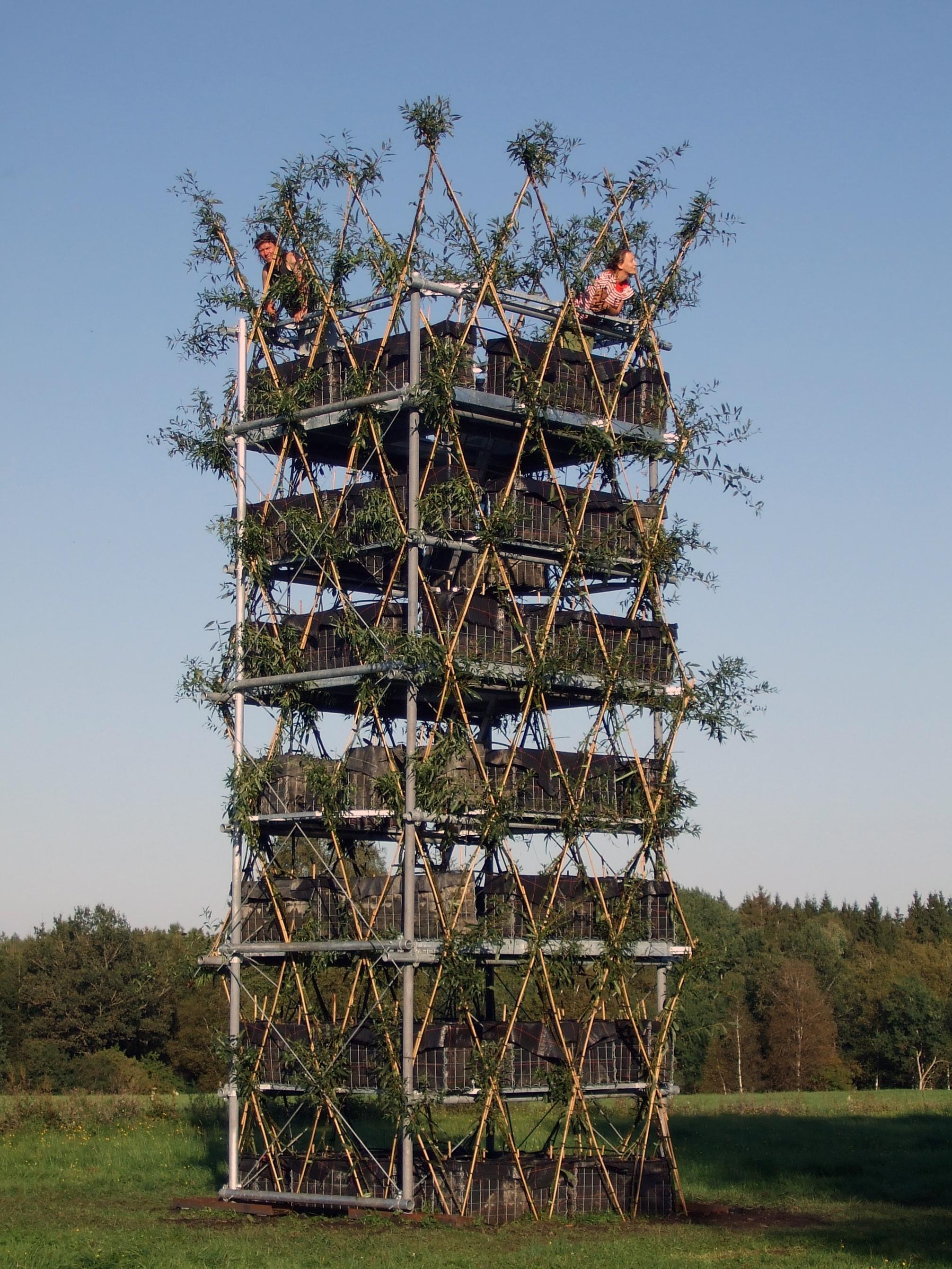 Architecture v g tale le projet baubotanik voir for Architecture vegetale