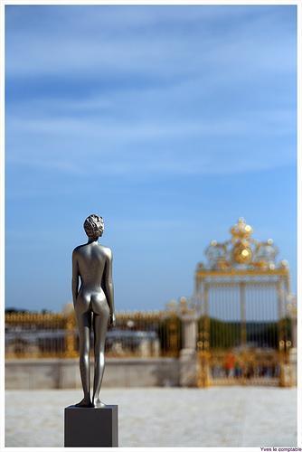 Veilhan - La femme nue, septembre 2009