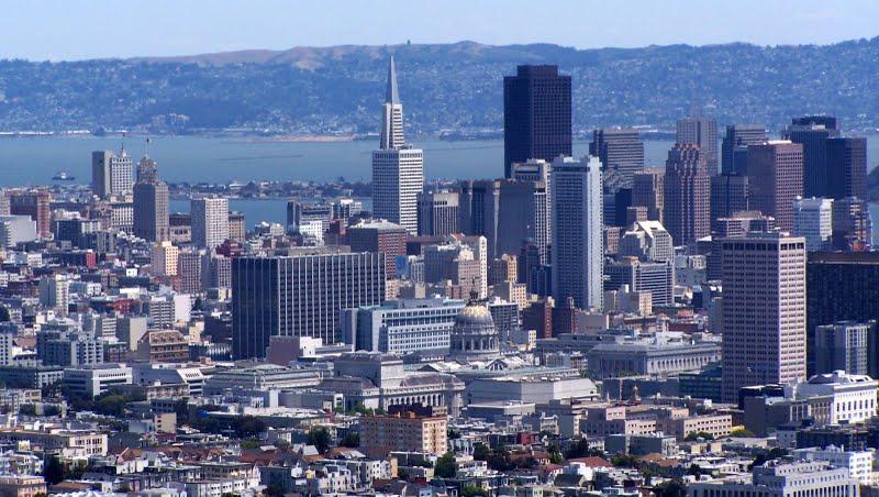 Twin Peaks, magnifique panorama sur San Francisco et sa baie
