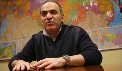 Garry Kasparov, champion du monde d'échecs de 1985 à 2000 © New York Times