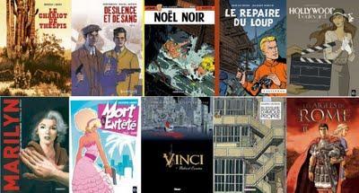 Sélection de sorties BD de la semaine du 5 octobre 2009