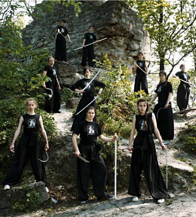 Asgarda, les amazones ukrainiennes