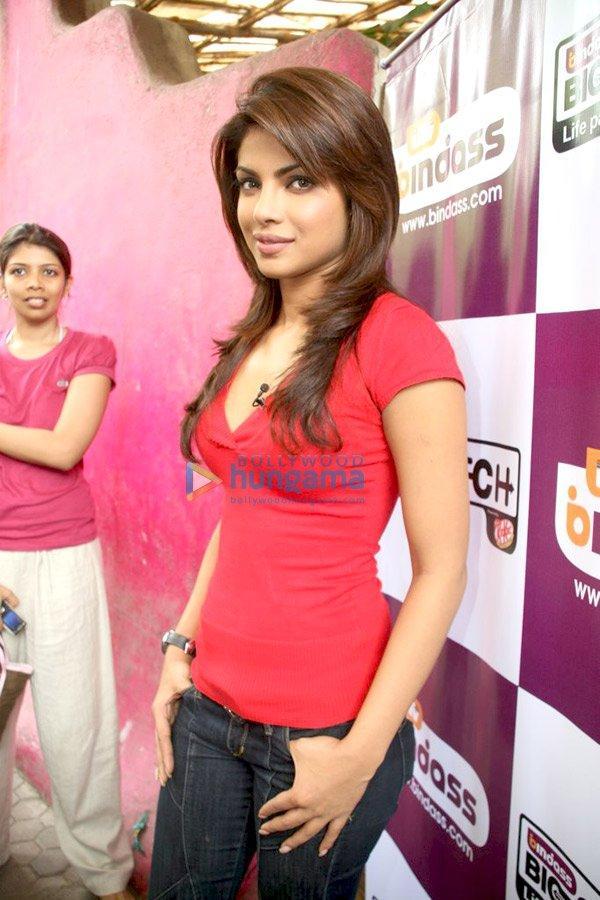 Priyanka Chopra sur le tournage de Big Switch