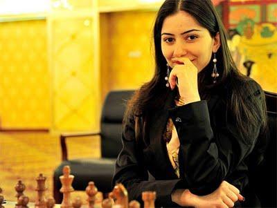 L'arménienne Lilit Mrktchian (2467) © ChessBase