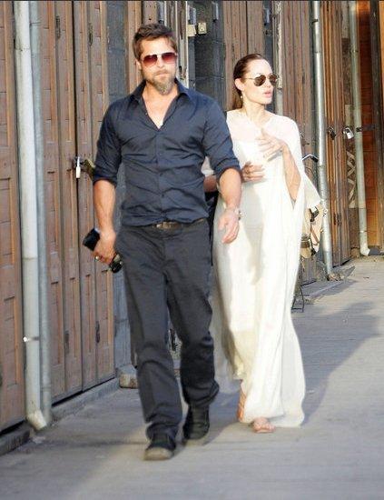 Brad Pitt et Angelina Jolie en Syrie