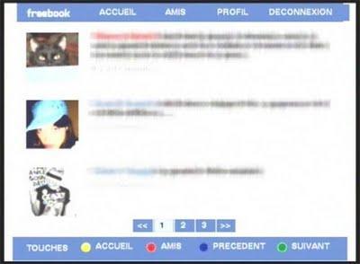 Freebook : le Télésite Facebook sur Freebox