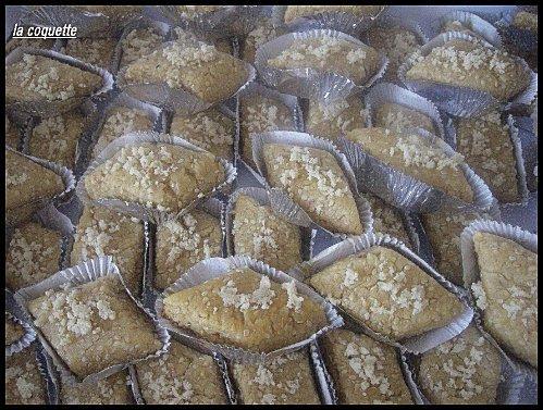 makroudes aux cacahuettes.
