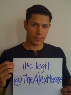 Alex Meraz sur Twitter - Officiel