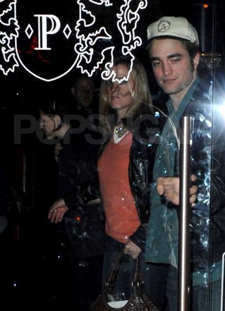 Robert Pattinson et Kristen Stewart à Pinky's Steakhouse