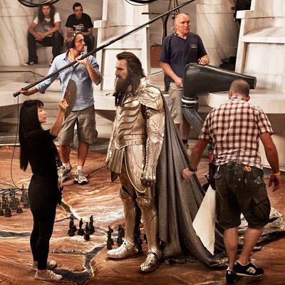 Le Choc des Titans : Liam Neeson, une photo nom de Zeus !