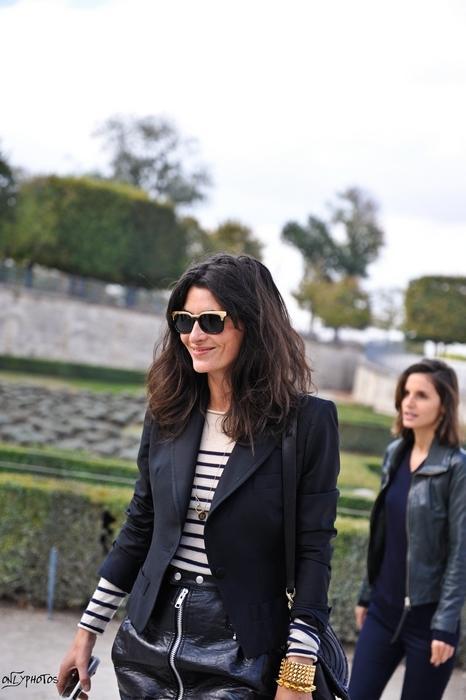 Arrivées au Défilé Prêt à Porter Printemps-Été 2010 - Christian Dior -