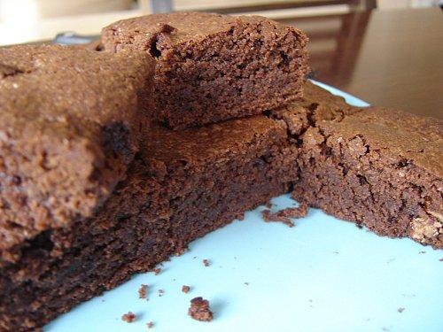 Brownie au 3 chocolats