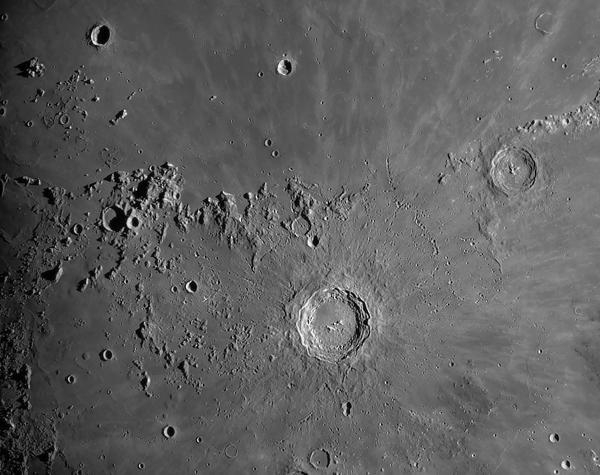 Images de la Lune de Rooisand, 2009