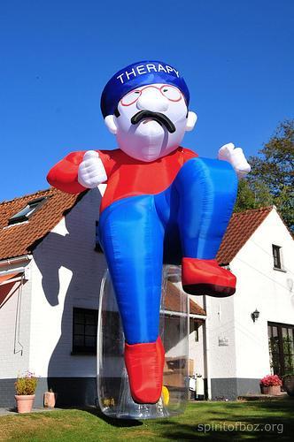 Jack Balance geant (poupée gonflabe de 7 mètres)
