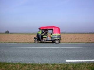 Paris-Lille en rickshaw !!