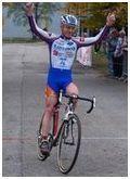 Cyclo cross 01 : Echirolles : L. Genthon sur la plus haute marche !