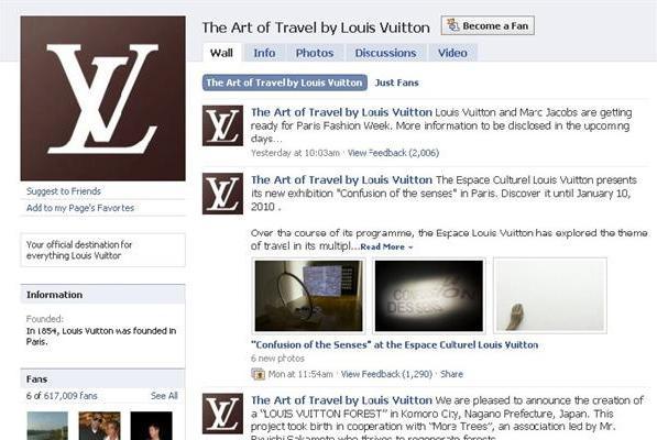 Defilé Louis Vuitton en live sur Facebook