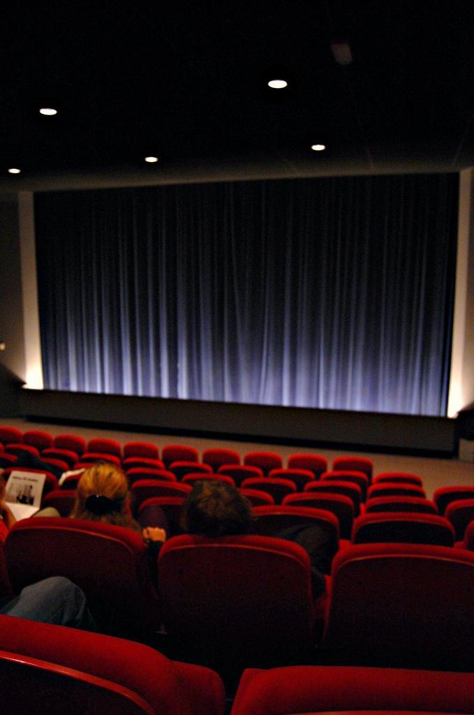 Salles de cinéma : Il y a des règles à respecter …
