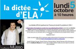 Solidarité. La dictée d'ELA dans les écoles françaises