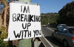 Je rompt avec toi
