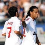Atalanta - Milan, Pato et Ronaldinho
