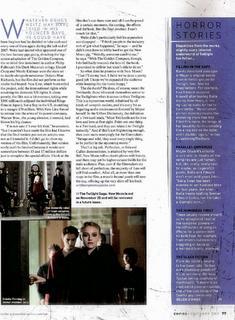 New Moon dans Empire Magazine