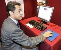 Sarkozy en mode Bloggeur