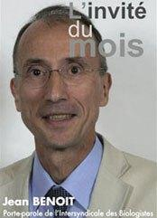 Le Président Jean Benoît
