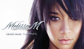 Melissa M ... Les mots ... son nouveau single bientôt dans les bacs !